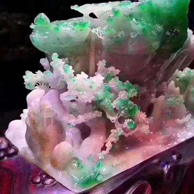 临沂好口碑的缅甸天然老坑翡翠原石网站_买好不买贵
