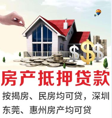 抵押贷款咨询材料简单